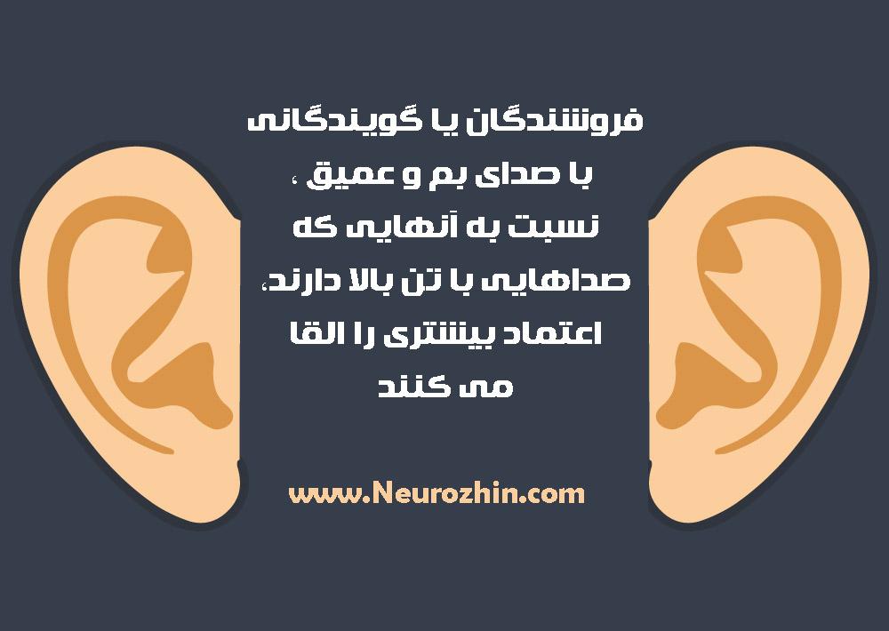 حس شنوایی در فروش